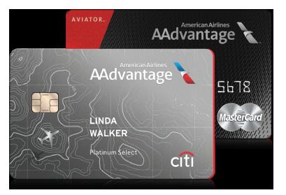ce9d2a5843e American Airlines Citi AAdvantage credit card and AAdvantage Aviator  Mastercard